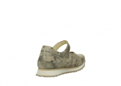 wolky mary janes 05805 e step 30939 camouflage stretch nubuck_9