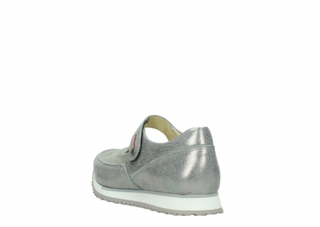 wolky mary janes 05805 e step 49200 silvergrey metallic stretch leather_5