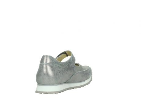 wolky mary janes 05805 e step 49200 silvergrey metallic stretch leather_9