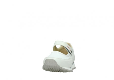 wolky mary janes 05805 e step 70100 white stretch leather_20