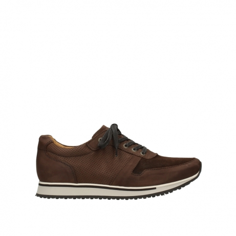 wolky lace up shoes 05850 e walk men 11430 cognac nubuck
