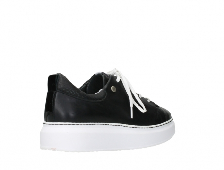 wolky lace up shoes 05875 move it 20000 black leather_22