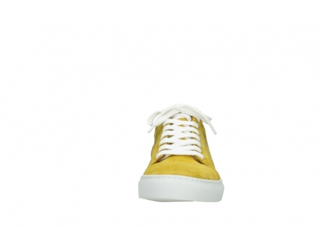 wolky lace up shoes 09480 francesco 40900 yellow suede_19