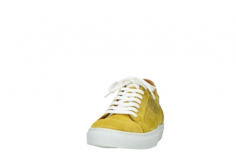 wolky lace up shoes 09480 francesco 40900 yellow suede_20