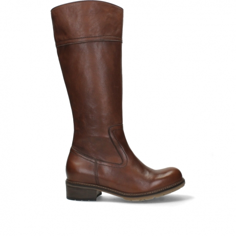 wolky long boots 04477 moher 32430 cognac leather