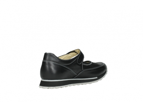wolky mary janes 05805 e step 20009 black stretch leather_10