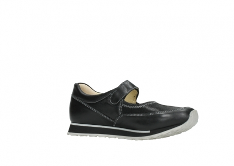 wolky mary janes 05805 e step 20009 black stretch leather_15