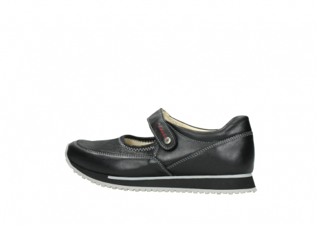 wolky mary janes 05805 e step 20009 black stretch leather_2