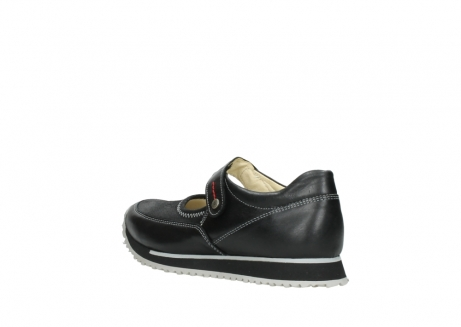 wolky mary janes 05805 e step 20009 black stretch leather_4