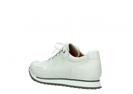 wolky lace up shoes 05850 e walk men 20120 offwhite stretch leather_4
