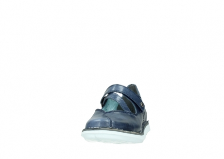 wolky mary janes 08478 limestone 30870 blue leather_20