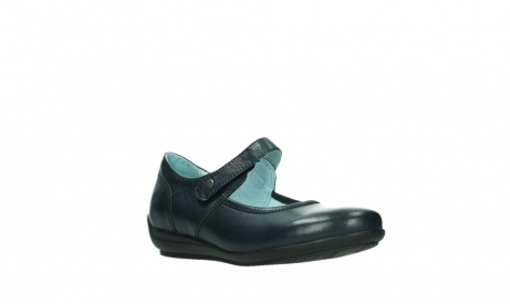 wolky mary janes 00385 noble 21800 blue leather_4