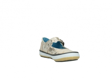 wolky mary janes 01226 tour 90140 gold metallic leather_17