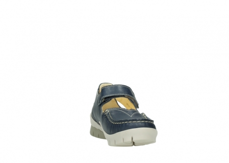 wolky mary janes 01754 polina 70870 blue leather_18