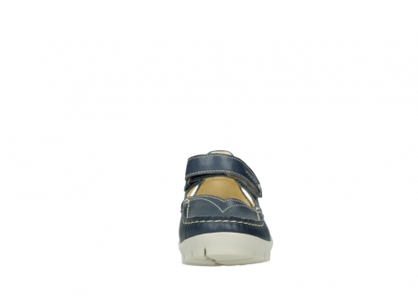 wolky mary janes 01754 polina 70870 blue leather_19