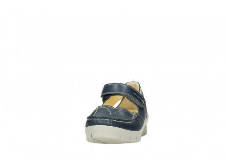 wolky mary janes 01754 polina 70870 blue leather_20