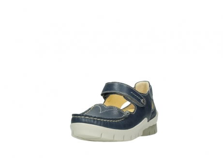 wolky mary janes 01754 polina 70870 blue leather_21