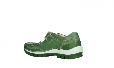 wolky mary janes 04709 step 35735 velvet green leather_15