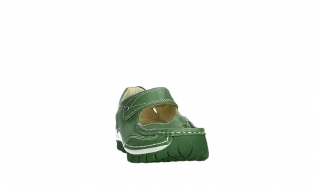 wolky mary janes 04709 step 35735 velvet green leather_6