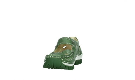 wolky mary janes 04709 step 35735 velvet green leather_8