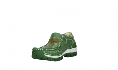 wolky mary janes 04709 step 35735 velvet green leather_9