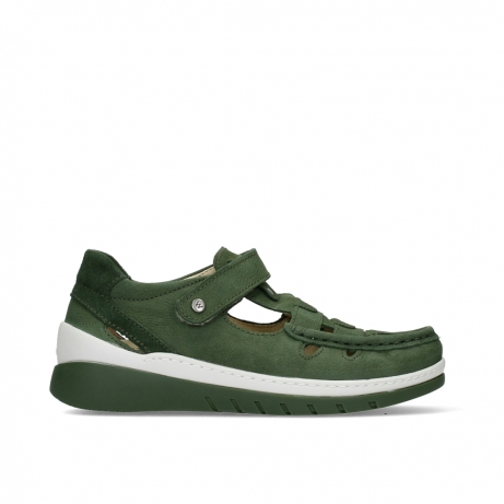 wolky mary janes 04854 byte 11720 moss green nubuck