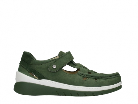 wolky mary janes 04854 byte 11720 moss green nubuck_1