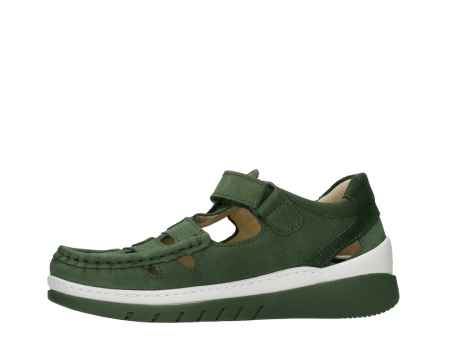 wolky mary janes 04854 byte 11720 moss green nubuck_12