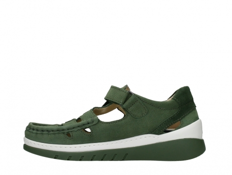 wolky mary janes 04854 byte 11720 moss green nubuck_13