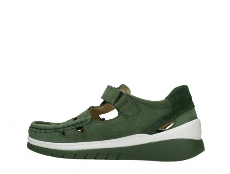 wolky mary janes 04854 byte 11720 moss green nubuck_14
