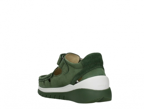 wolky mary janes 04854 byte 11720 moss green nubuck_17