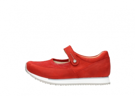 wolky mary janes 05805 e step 11500 red stretch nubuck_1