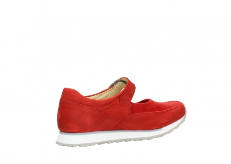 wolky mary janes 05805 e step 11500 red stretch nubuck_11