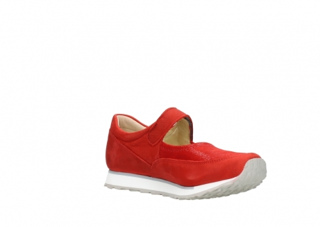 wolky mary janes 05805 e step 11500 red stretch nubuck_16