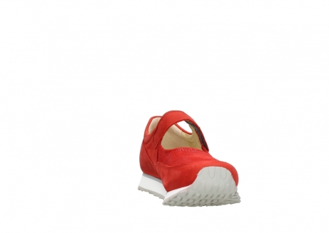 wolky mary janes 05805 e step 11500 red stretch nubuck_18
