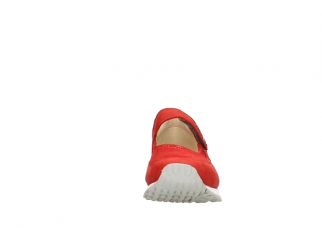 wolky mary janes 05805 e step 11500 red stretch nubuck_19