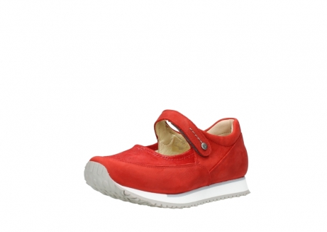 wolky mary janes 05805 e step 11500 red stretch nubuck_22