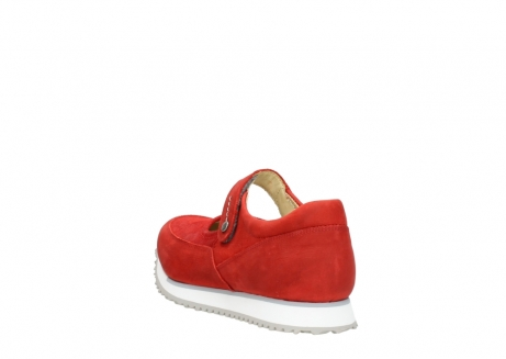 wolky mary janes 05805 e step 11500 red stretch nubuck_5