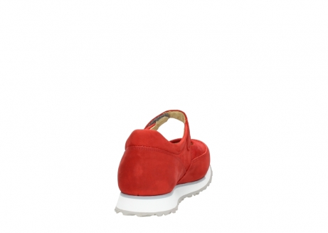 wolky mary janes 05805 e step 11500 red stretch nubuck_8