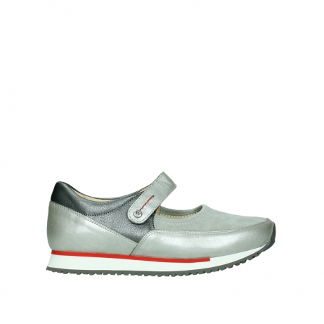 wolky mary janes 05805 e step 87130 silver grey pearl stretch leather