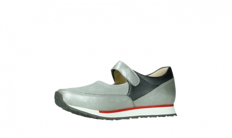wolky mary janes 05805 e step 87130 silver grey pearl stretch leather_11