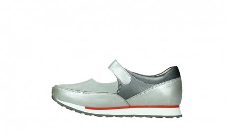 wolky mary janes 05805 e step 87130 silver grey pearl stretch leather_13
