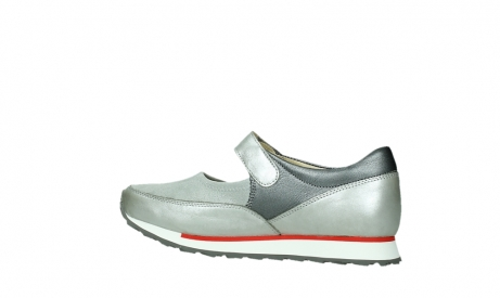 wolky mary janes 05805 e step 87130 silver grey pearl stretch leather_14