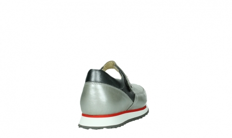 wolky mary janes 05805 e step 87130 silver grey pearl stretch leather_20