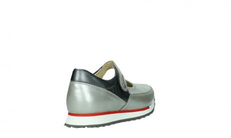 wolky mary janes 05805 e step 87130 silver grey pearl stretch leather_21