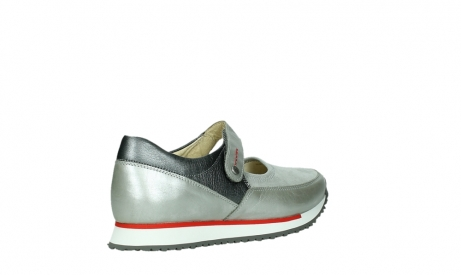 wolky mary janes 05805 e step 87130 silver grey pearl stretch leather_22