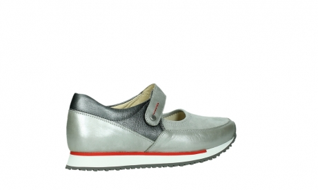 wolky mary janes 05805 e step 87130 silver grey pearl stretch leather_23