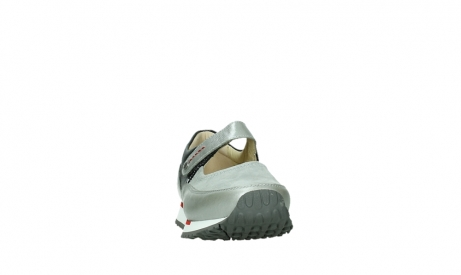 wolky mary janes 05805 e step 87130 silver grey pearl stretch leather_6