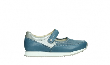 wolky mary janes 05805 e step 87860 steel blue pearl stretch leather_1