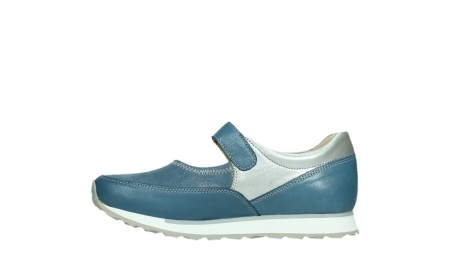 wolky mary janes 05805 e step 87860 steel blue pearl stretch leather_13